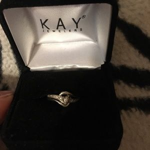 Kay jewelers promise ring.